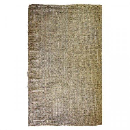 Woven Metallic Rug