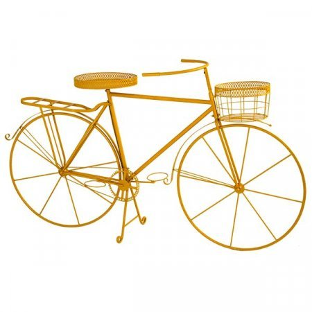 Yellow Planter Bike