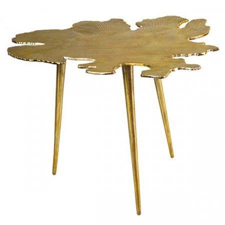 Amoeba Gold Side Table