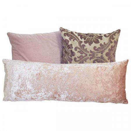 Assorted Blush Lavendar Pillows