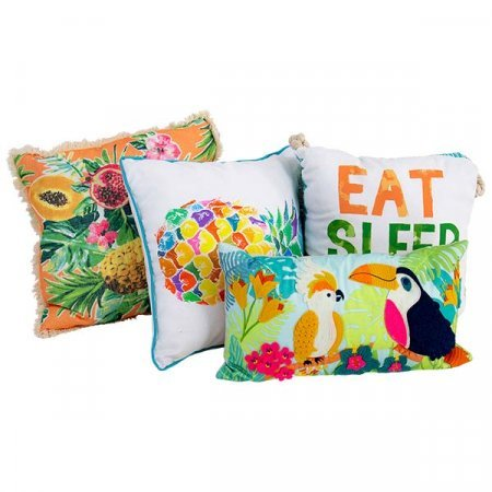 Assorted Tropical Beach Pillows