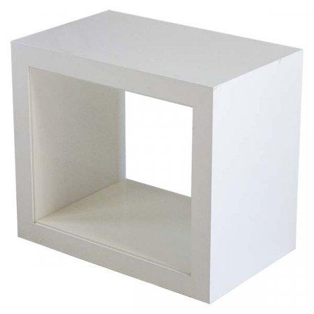 Atelier White Side Table