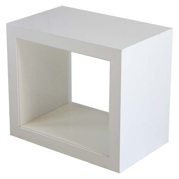 Atelier White Side Table