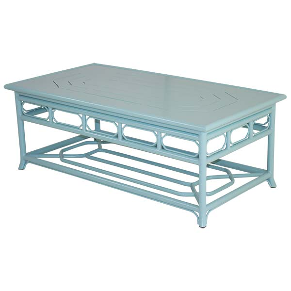 Caribbean Blue Regeant Coffee Table