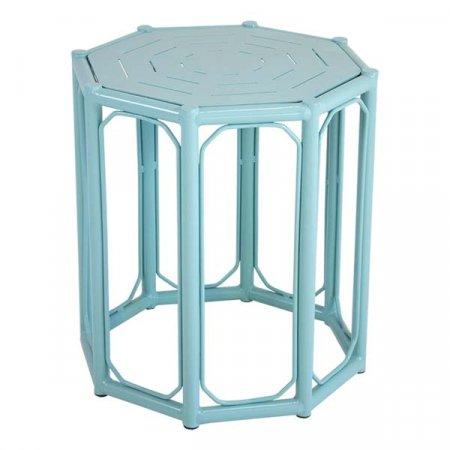 Caribbean Blue Regeant Side Table