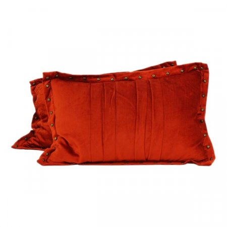 Dark Orange Pillows