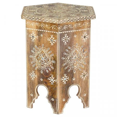 Decorative Wood Table Small
