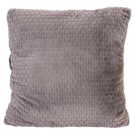 Gray Tile Pillow