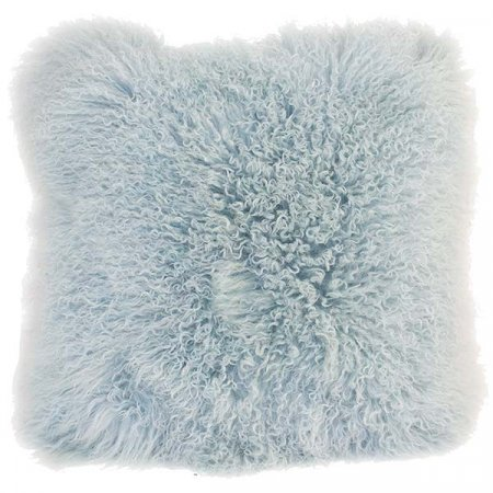 Ice Blue Mo Hair Pillow