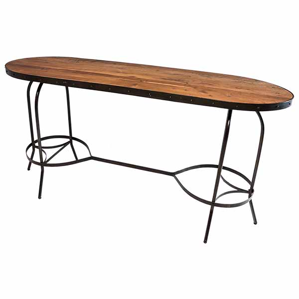 Oval Communal Table