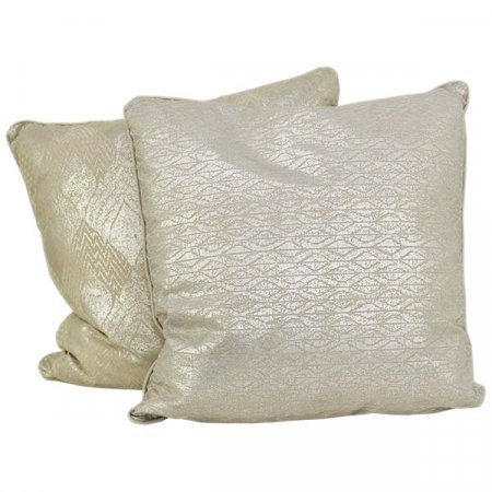 Silver Pattern Pillow