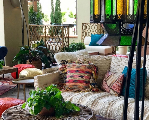 Inspired Environments Casual Moroccan