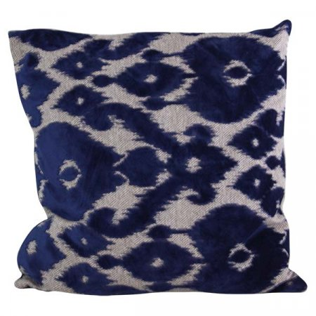 Inspired Environments Cut Velvet Patterned Pillow