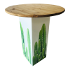 Inspired Environments Candle Cactus Glow Table Angle
