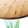 Inspired Environments Candle Cactus Glow Table Top Detail