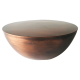 Inspired Environments Copper Drum Coffee Table