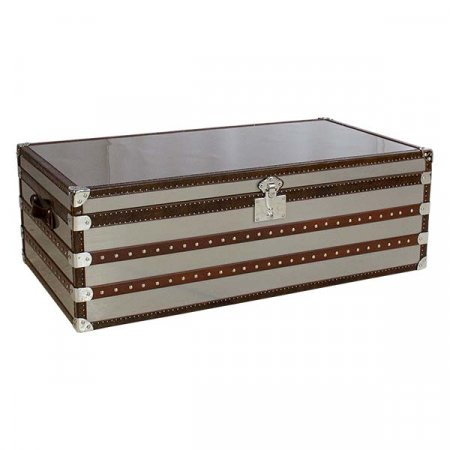 IE Silver Luggage Table