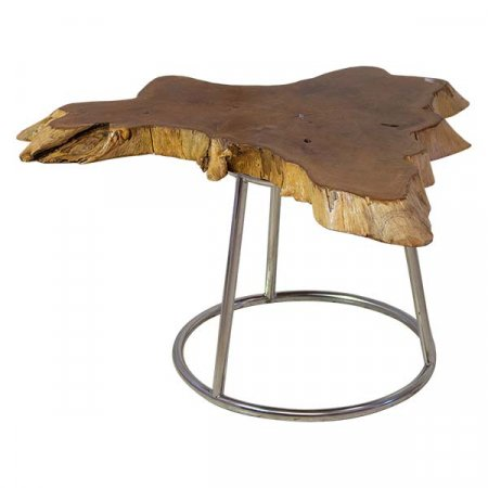 IE Raw Edge Side Table Rental Inventory