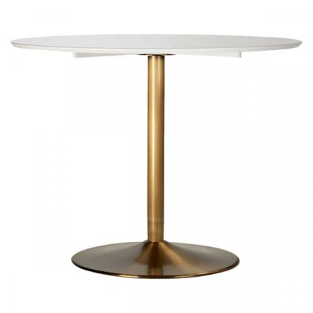 Brass Based Dining Table