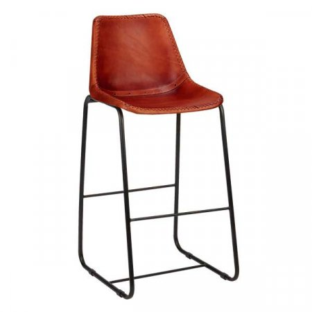 Cognac Bar Stool