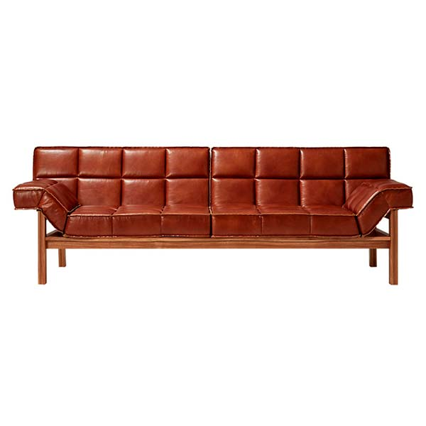 Drops Leather Sofa