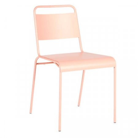 Dusty Pink Dining Chair