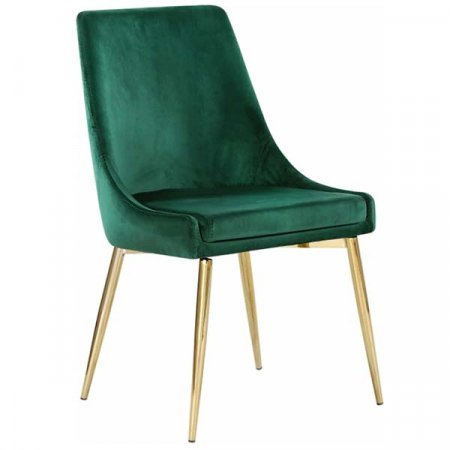 Meridian Green Side Chair