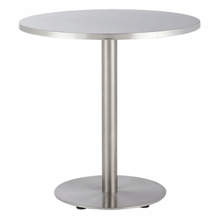 Inspired Environments Chrome Bistro Table