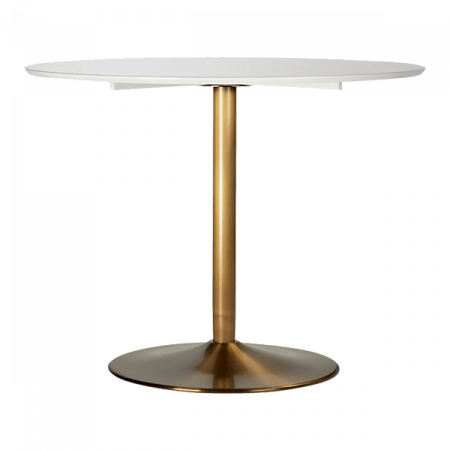Inspired Environments Brass Based Dining Table