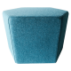 Inspired Environments Blue Delphinium Hexagon Side