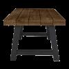 Inspired Environments Dark Teak Dining Table