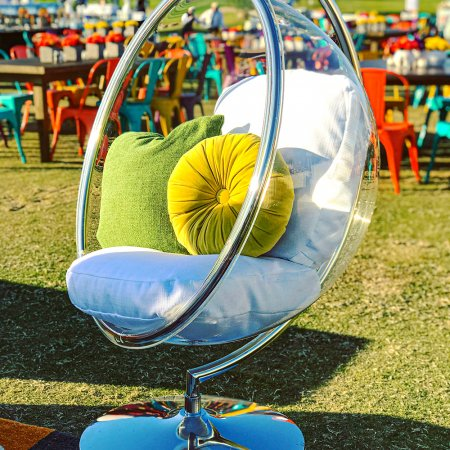 Inspired Environments Clear Bubble Chair