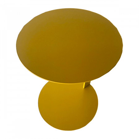 Inspired Environments Mustard Tech Side Table