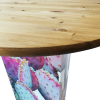 Inspired Environments Prickly Pear Cactus Glow Table Detail