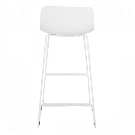 Inspired Environments White Bar Stool Front