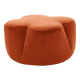 Inspired Environments Cinnamon Petal Ottoman