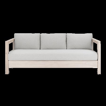 Inspired Environments Coastal Teak Lounge Sofa Front