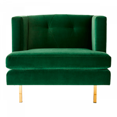 Inspired Environments Emerald Side Chair Front