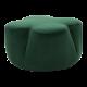 Inspired Environments Emerald Petal Ottoman