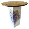 Inspired Environments Lavender Succulent Glow Table