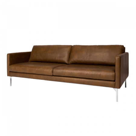 Inspired Environments Leather Sofa Angle