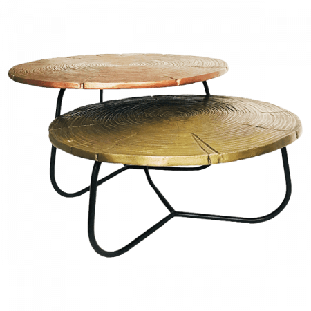 Inspired Environments Metal Nesting Tables