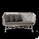 Inspired Environments Outdoor Gray Sofa
