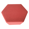 Inspired Environments Red Poppy Hexagon Top