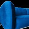Inspired Environments Royal Blue Plush Sofa Detail