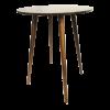 Inspired Environments Walnut Wood Highboy Angle