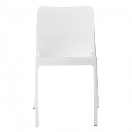 Inspired Environments White Mod Dining Chair Front