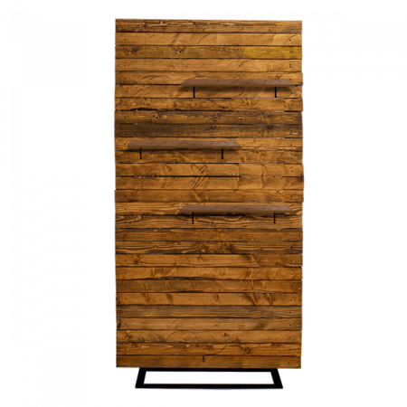Inspired Environments Wood Plank Wall