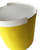 Inspired Environments Yellow Peony Bumper Detail