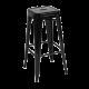 Inspired Environments Black Tolix Metal Barstool